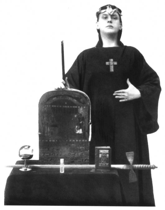 Aleister Crowley, der Magus