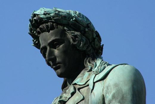 Schillerdenkmal, Detailansicht